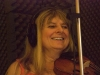 Gina Le Faux recording her CD 'In my life' 2