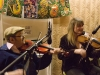Gina Le Faux and Dave Swarbrick at The Red Shed, Wakefield 1