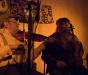 Gina Le Faux and Dave Swarbrick at The Red Shed, Wakefield 2